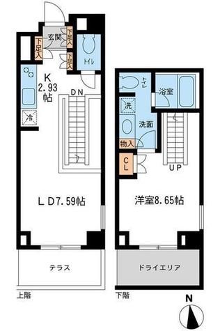 レジデンス白金コローレ(旧アパートメンツ白金コローレ) / 112 部屋画像1