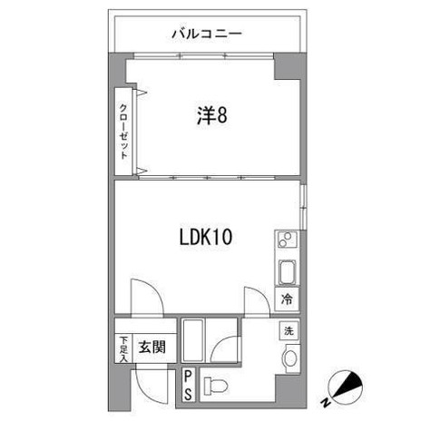 南青山ハウス / 302 部屋画像1