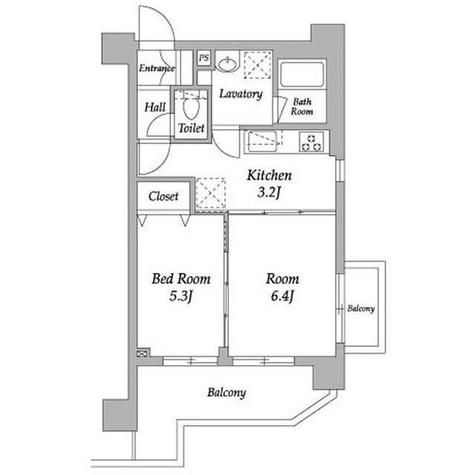 アメニティー自由が丘 / 2階 部屋画像1