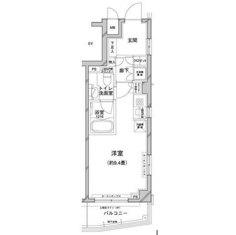 コンフォリア目黒八雲 / 3階 部屋画像1