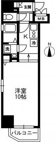 レジディア上野御徒町 / 1R(29.52㎡) 部屋画像1