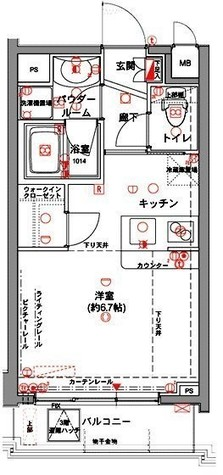アデッソ目黒東山 / 5階 部屋画像1