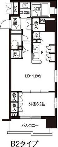 レジディア御茶ノ水 / 1LDK(44.08㎡) 部屋画像1