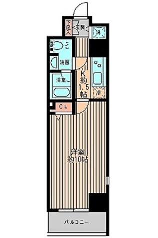 レガーロ御茶ノ水Ⅰ / 2階 部屋画像1