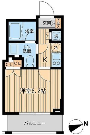 レジデンス大森(旧コンフォリア大森) / 2階 部屋画像1