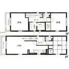 恵比寿1丁目 2~3階メゾネットマンション / 2階・3階 部屋画像1