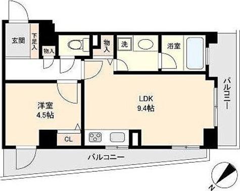 CASSIA初台 / 1LDK(37.08㎡) 部屋画像1