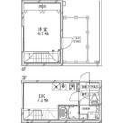 クールブラン大井町アネックス / 1DK(37.76㎡) 部屋画像1