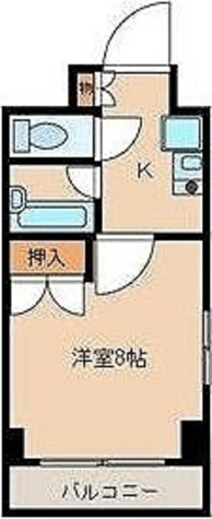フォレシティ秋葉原 / 1K(22.65㎡) 部屋画像1