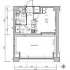S-FORT川口並木 / 1K(21.09㎡) 部屋画像1