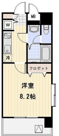 メゾン・ド・ヴィレ中目黒 / 10階 部屋画像1