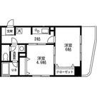 クレール羽田 / 2K(33.52㎡) 部屋画像1