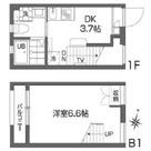 西新宿五丁目 3分マンション / 1DK(23.01㎡) 部屋画像1