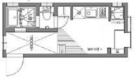 グランエッグス西新宿S / 1R+ロフト(16.12㎡) 部屋画像1