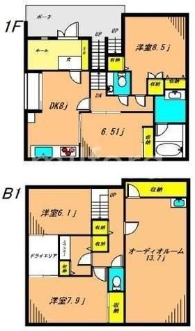 フレシールSENZOKU / 1 部屋画像1