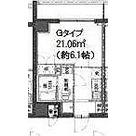 ライジングプレイス綾瀬三番館 / 1K(21.06㎡) 部屋画像1