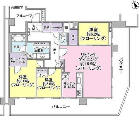 プレサンスロジェ横濱TENNOCHO プレサンスロジェ横濱天王町 / 5階 部屋画像1