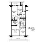 深沢ハウス Ⅰ / 3LDK(85.03㎡) 部屋画像1
