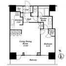 リエトコートアルクスタワー / 1LDK(60.92㎡) 部屋画像1