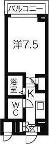 HF東中野レジデンス / 1K(22.40㎡) 部屋画像1