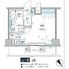 ベルシード梅島ブランシュ / ワンルーム(25.82㎡) 部屋画像1