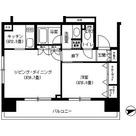 パークキューブ浅草田原町 / 1LDK(44.88㎡) 部屋画像1