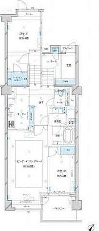 参宮橋マンション / 2LDK(93.16㎡) 部屋画像1