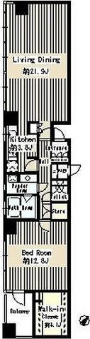 パークルージュ赤坂檜町 / 1LDK(89.04㎡) 部屋画像1
