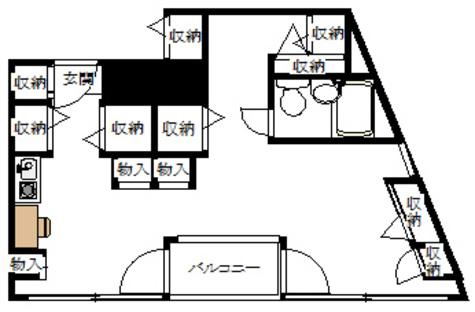 本郷ウッドフィールド / 4階 部屋画像1