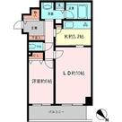 コロネード市ヶ谷 / 1LDK (50.58㎡) 部屋画像1