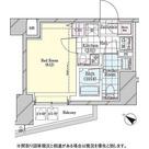 ディームス品川戸越 / W-Bタイプ(22.34㎡) 部屋画像1