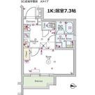 スカイコート成城学園前 / 1K(26.73㎡) 部屋画像1