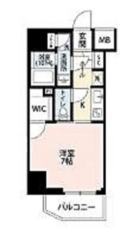 プレール・ドゥーク菊川駅前 / 1K(25.9㎡) 部屋画像1