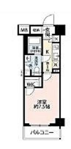 プレール・ドゥーク菊川駅前 / 1K(26.97㎡) 部屋画像1