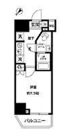プレール・ドゥーク西巣鴨 / 1K(25.6㎡) 部屋画像1