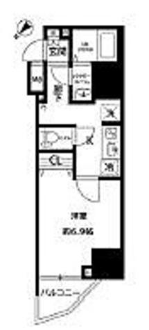 プレール・ドゥーク西巣鴨 / 1K(25.97㎡) 部屋画像1