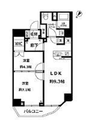 プレール・ドゥーク西巣鴨 / 12階 部屋画像1