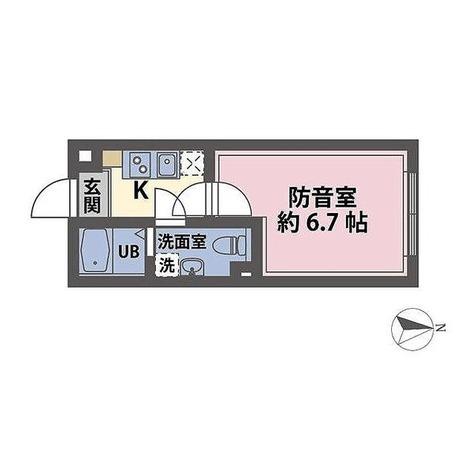 ラシクラス練馬プルミエ / 1K(20.73㎡) 部屋画像1