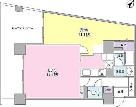 TKフラッツ渋谷 / 1LDK(62.82㎡) 部屋画像1