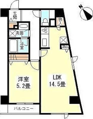 TKフラッツ渋谷 / 1階 部屋画像1