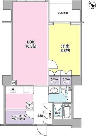 フォレストタウン参宮橋 / 1階 部屋画像1
