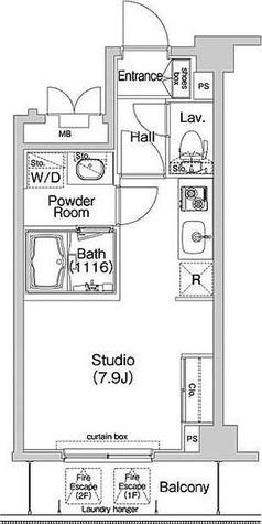 コンフォリア神楽坂 / 2階 部屋画像1