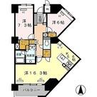 ロイヤルパークス豊洲 / 2LDK(82.57㎡) 部屋画像1