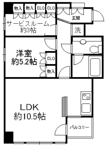 シュロス神田五軒町ツインフォルム / 7階 部屋画像1