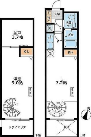 アーデン目黒通り(旧ミルーム目黒通り) / 1階 部屋画像1