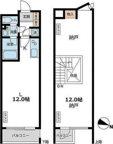 アーデン目黒通り(旧ミルーム目黒通り) / 2階 部屋画像1