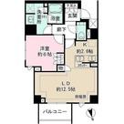 ザ・パークハウス桜新町翠邸 / 1LDK(53.09㎡) 部屋画像1