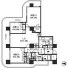 リバーポイントタワー / 3LDK(86.69㎡) 部屋画像1