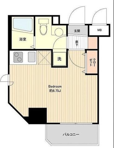 プライムアーバン板橋区役所前 / ワンルーム(20.43㎡) 部屋画像1
