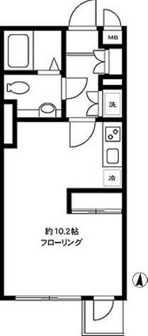 ルート四谷三丁目 / ワンルーム(27.47㎡) 部屋画像1